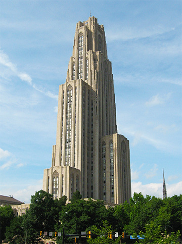 Picture of the Cathedral of Learning Building Photo - University of Pittsburgh